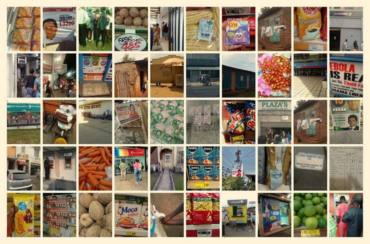 A collage of photos taken by Premise collectors