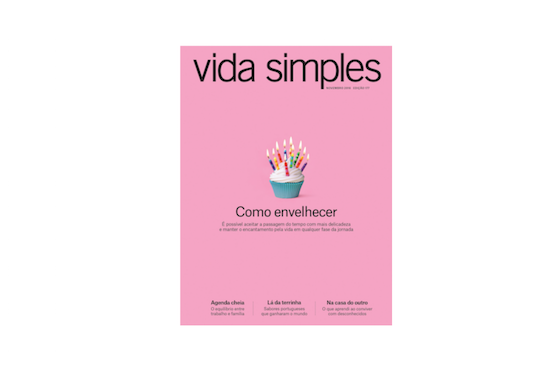 Cover of Vida Simples October 2016 issue