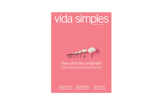 Cover of Vida Simples magazine January 2018