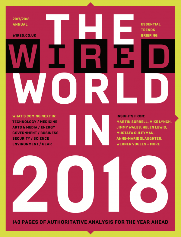 Cover of The Wired World in 2018