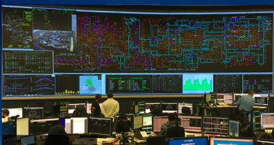 Image of inside National Grid's control room