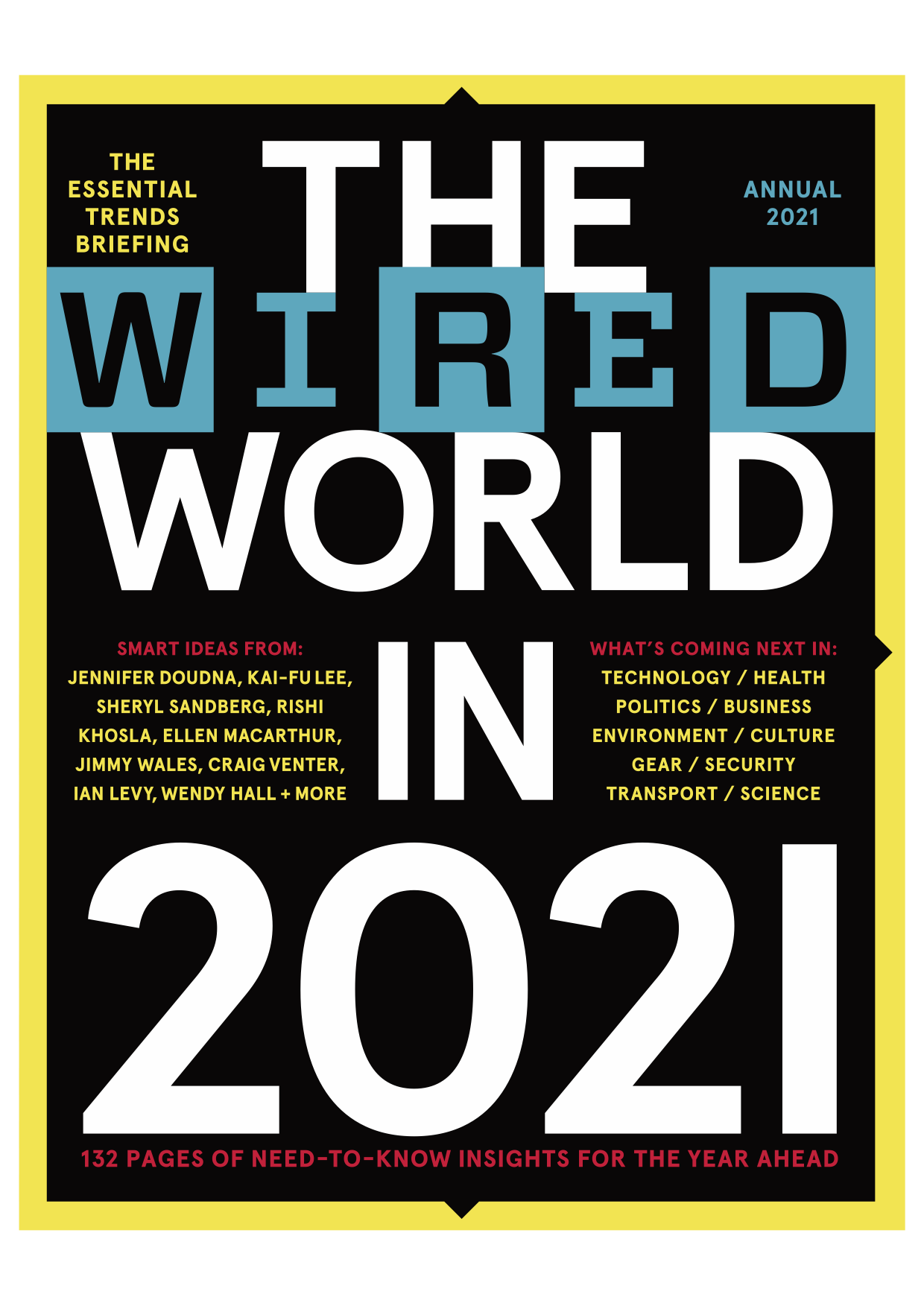 Cover of The Wired World in 2021